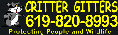 Critter Gitters Animal Control San Diego Logo